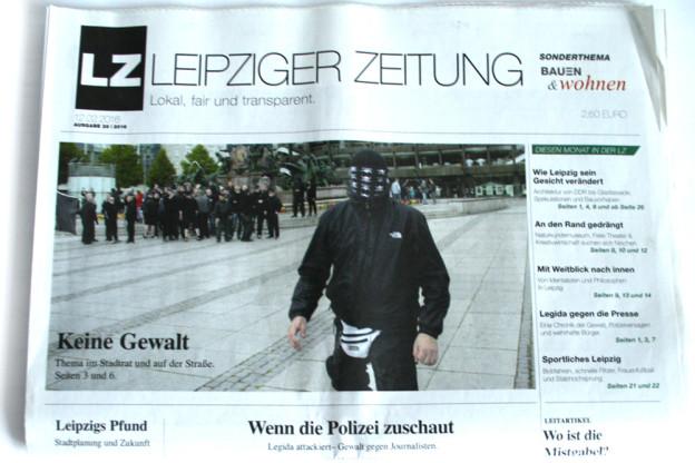 Leipziger Zeitung, Ausgabe 28 vom 12. Februar 2016. Foto: Ralf Julke