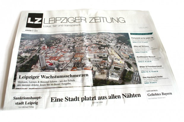 Die Mai-Ausgabe der Leipziger Zeitung. Foto: Ralf Julke