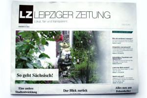 Die LEIPZIGER ZEITUNG, Ausgabe Oktober 2016. Foto: LZ