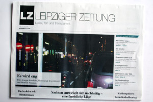 Die LEIPZIGER ZEITUNG, Ausgabe November 2016. Foto: LZ