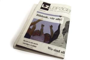 """""""Bildunk. vür alle"""" Die LZ 39 vom 20. Januar 2017. Foto: LZ"""
