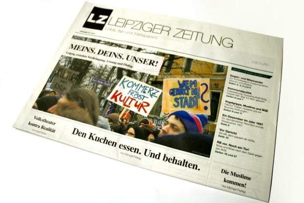 """""""Wem gehört die Stadt?"""" Die LEIPZIGER ZEITUNG Nr. 40 ist da. Foto: Ralf Julke"""