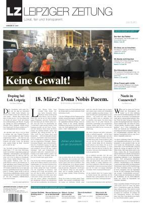 Die LZ Ausgabe 41 im März 2017 (Titel). Screen LZ
