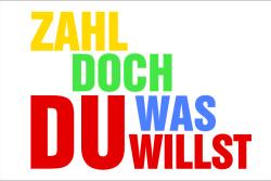 Zahl Doch, was Du willst. LZ & L-IZ.de gemeinsam.