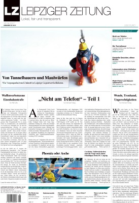LZ Ausgabe 46 Titelblatt. Screen LZ