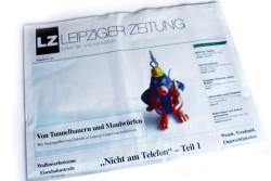 De LEIPZIGER ZEITUNG Ausgabe 46. Foto: LZ