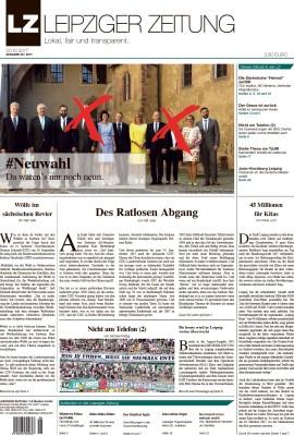 Der Titel der LZ 48, Ausgabe Oktober 2017. Screen Titel