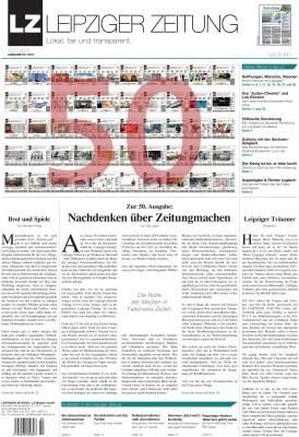 Das Titelblatt der LZ Dezember 2017. Screen PDF (zum Vergrößern klicken)