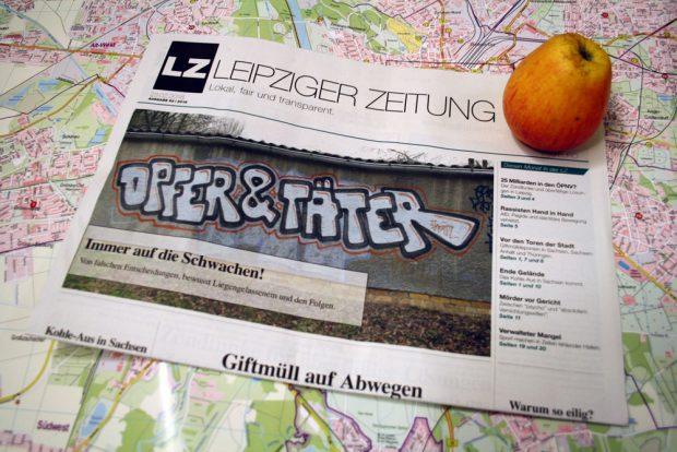 Leipziger Zeitung Nr. 52: Opfer & Täter. Foto: Ralf Julke