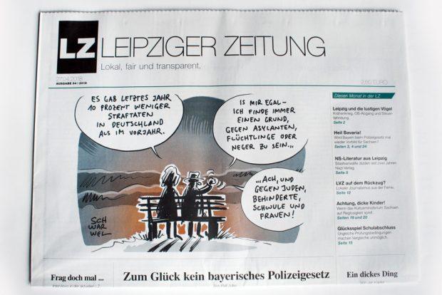 Leipziger Zeitung Nr. 54. Foto: Ralf Julke