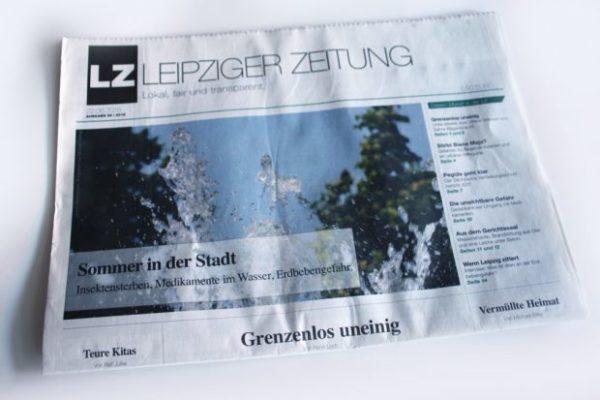 Leipziger Zeitung Nr. 56: Sommer in der Stadt ... Foto: Ralf Julke