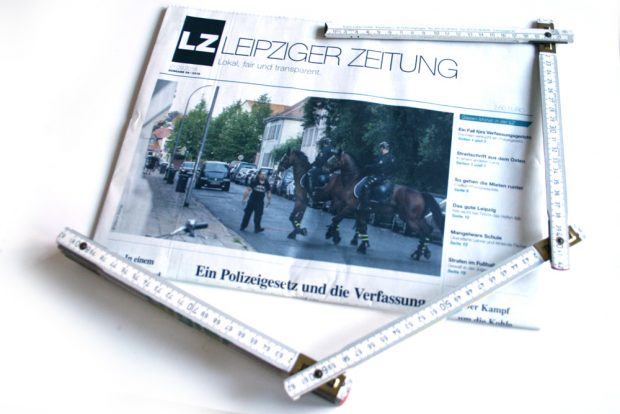 Leipziger Zeitung Nr. 59. Foto: Ralf Julke