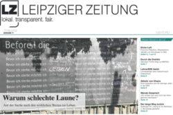 Die neue Ausgabe der LEIPZIGER ZEITUNG. Foto: L-IZ.de